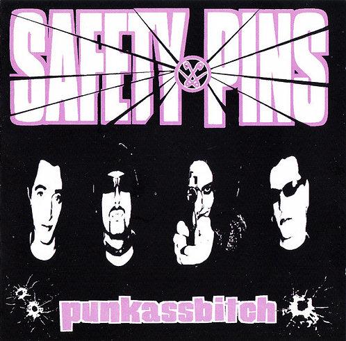 SAFETY PINS -  Punkassbitch LP
