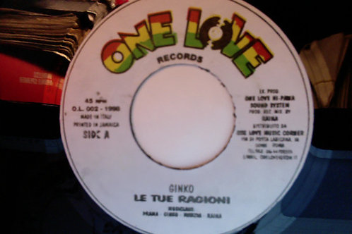 """GINKO - Le Tue Ragioni EP 7"""""""