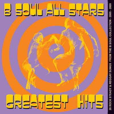B SOUL ALL STARS - Greatest Hits CD