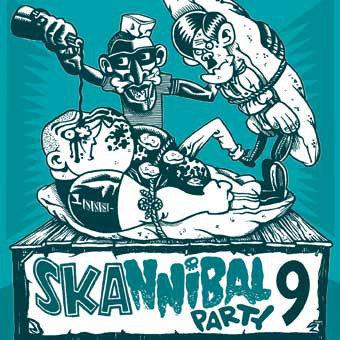 V/A SKANNIBAL PARTY VOL. 9 CD