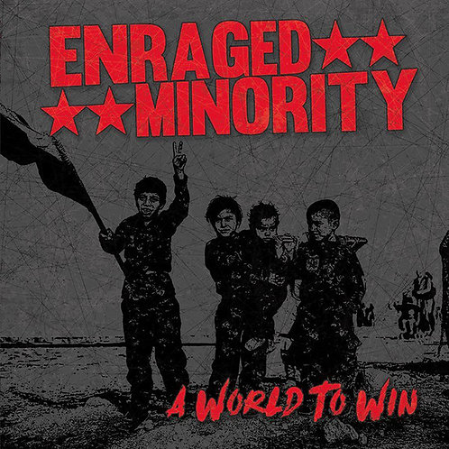 ENRAGED MINORITY - A World To Win LP