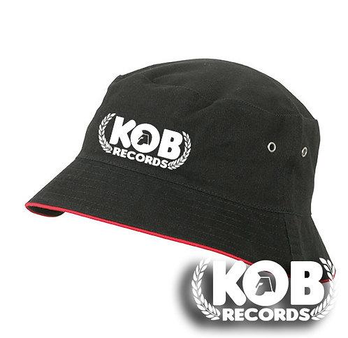 KOB RECORDS Fisherman Hat (Black)