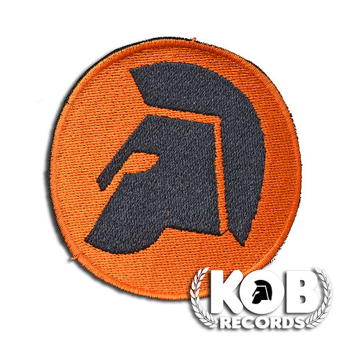 Kob Records Helmet Patch / Toppa