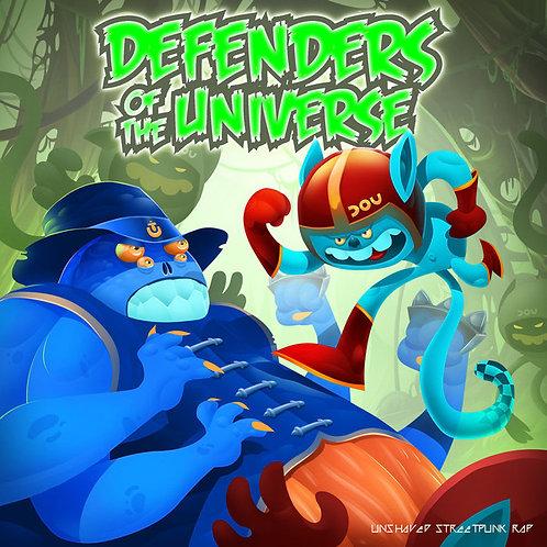 HIGGINS / DEFENDERS OF THE UNIVERSE You Die Today / Unshaved Streetpunk Rap LP