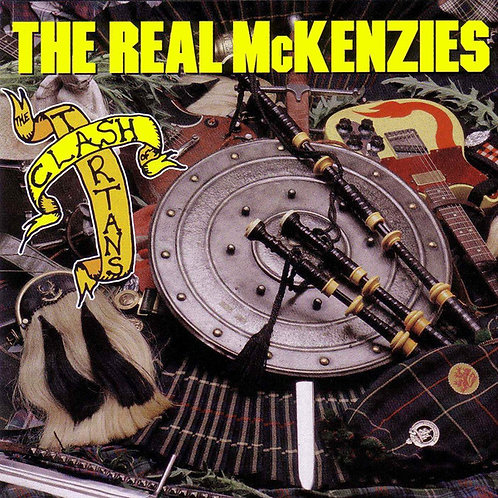REAL McKENZIES (THE) - Clash of the Tartans LP