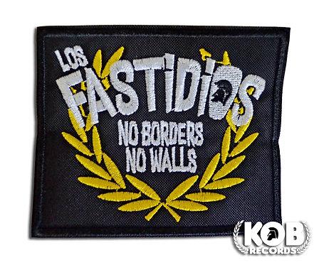 LOS FASTIDIOS NO BORDER NO WALLS Patch / Toppa
