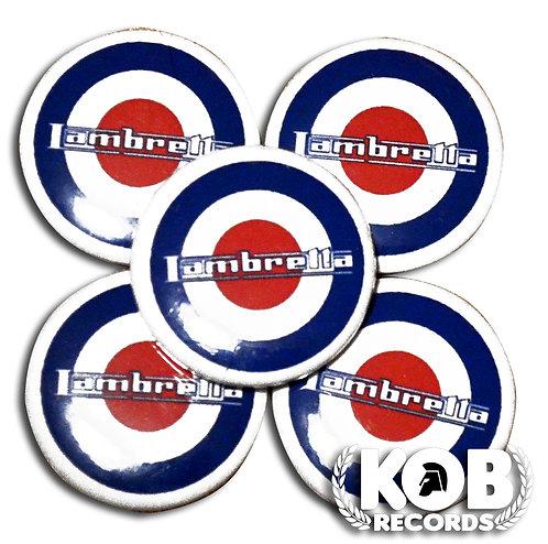 LAMBRETTA Button