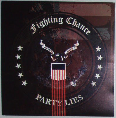 "FIGHTING CHANCE - Party Lies EP 7"" (Red)"