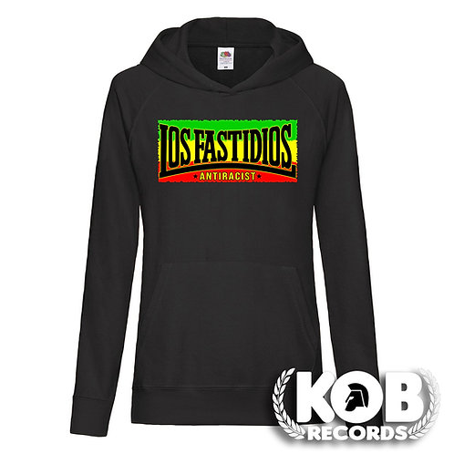LOS FASTIDIOS Antiracist Lady Hoodie