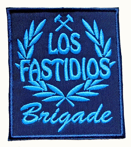 LOS FASTIDIOS BRIGADE Blue/Light Blue Patch/Toppa