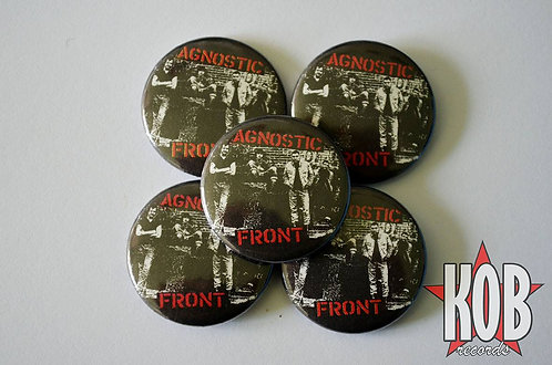 AGNOSTIC FRONT Button