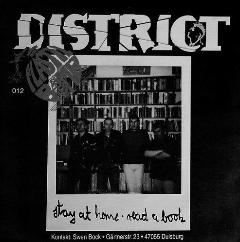 "DISTRICT / AFFRONT - Affront / District EP 7"" (Yellow)"