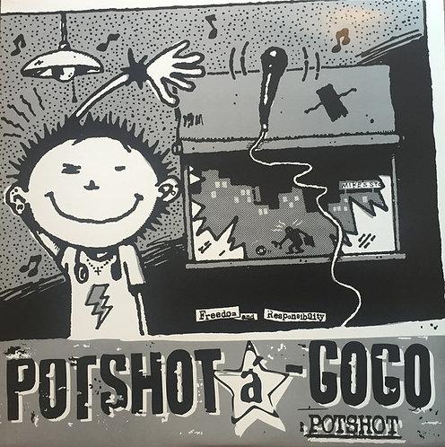 POTSHOT - Potshot a GoGo LP (White)