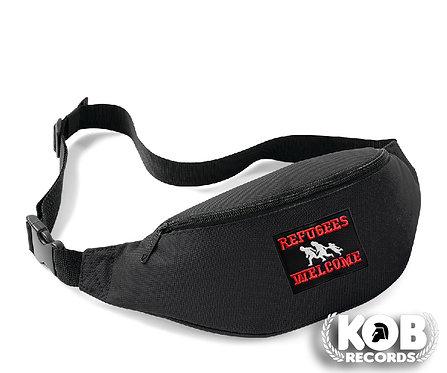 Belt Bag / Marsupio REFUGEES WELCOME Black