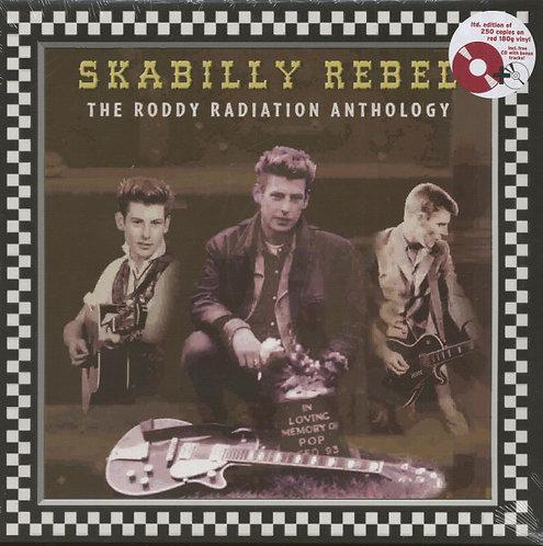 RODDY RADIATION -Skabilly Rebel: The Roddy Radiation Anthology LP 180gr (Red)+CD