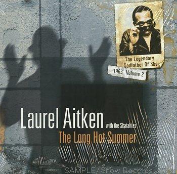 LAUREL AITKEN & THE SKATALITES - The long hot summer LP