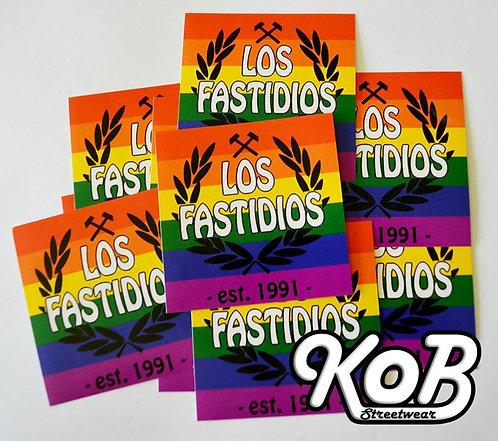LOS FASTIDIOS PRIDE (30 Stickers)