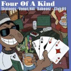 SKATOONS (THE) / BABOONZ (THE) / VENUS HILL / CLUB 99 Four of a Kind CD