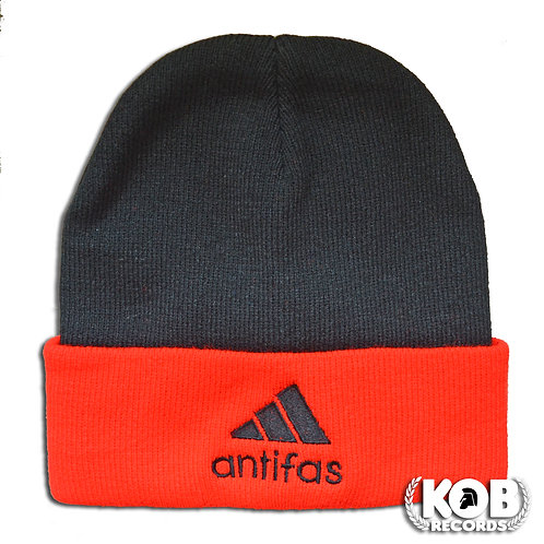 ANTIFAS Winter Cap Black&Red