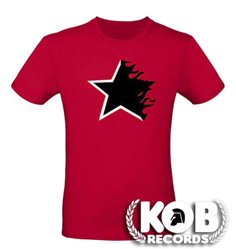 BLACK STAR Fire&Flames T-Shirt