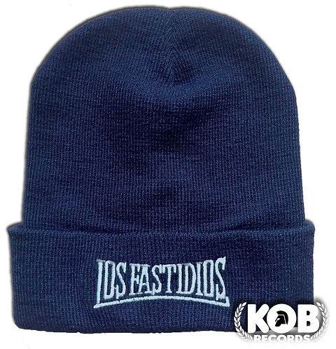 LOS FASTIDIOS Winter Cap Blue