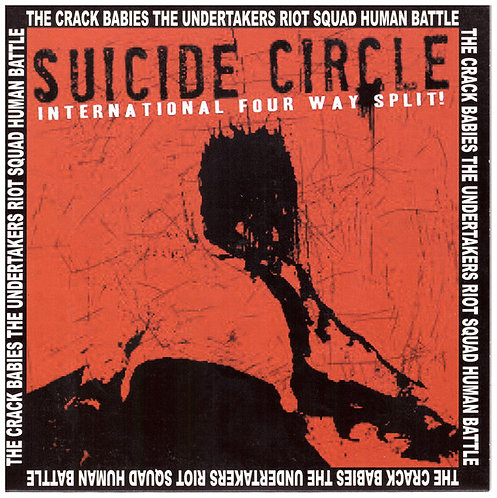"""V/A Suicide Circle EP 7"""" (Red)"""