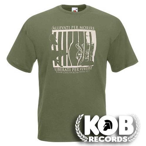 ALLEVATI PER MORIRE, LIBERATI PER VIVERE T-Shirt