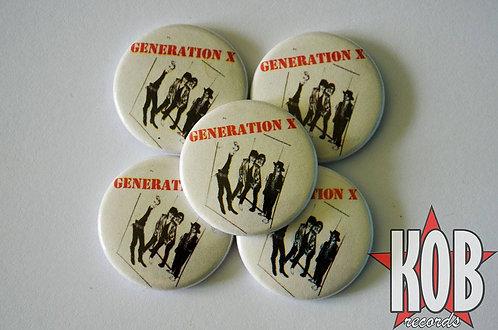 GENERATION X Button