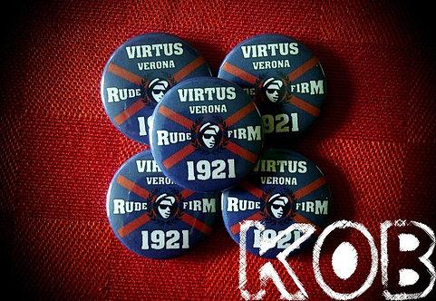 VIRTUS VERONA RUDE FIRM 1921 Button