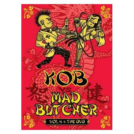 V/A - KOB vs MAD BUTCHER VOL. 4 (DVD)