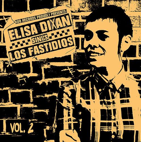 """LOS FASTIDIOS - Elisa Dixan Sings Los Fastidios vol.2 EP 7"""" (Yellow Vinyl)"""