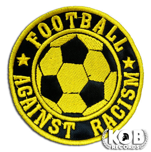 FOOTBALL AGAINST RACISM Patch / Toppa