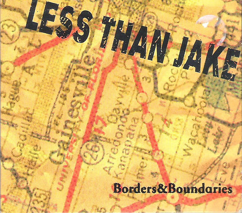 LESS THAN JAKE - Borders & Boundaries CD