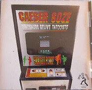 CAESER SOZE - Dinosaurs Believe Tatooists CD