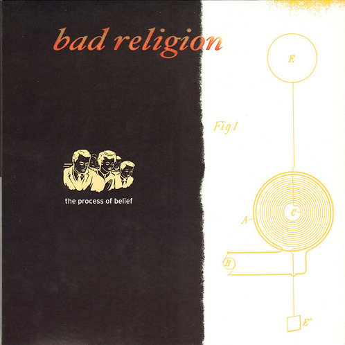 BAD RELIGION - The Process Of Belief LP (Gatefold Cover)