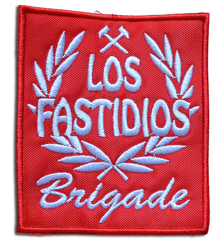 LOS FASTIDIOS BRIGADE Red/White - Patch / Toppa