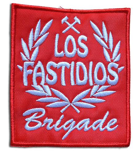 LOS FASTIDIOS BRIGADE Red/White - Patch / Toppa