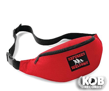 Belt Bag / Marsupio REFUGEES WELCOME Red