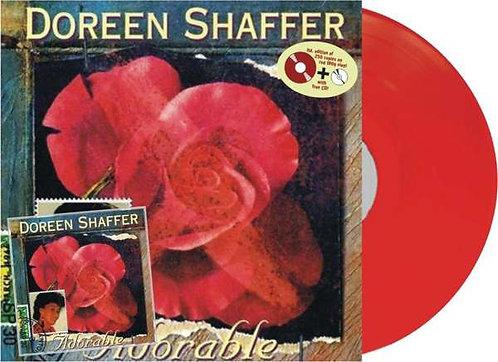 DOREEN SHAFFER - Adorable LP (Red) + CD