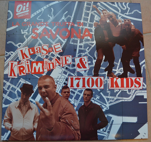 KLASSE KRIMINALE & 17100 KIDS - La grande truffa di Savona LP + CD