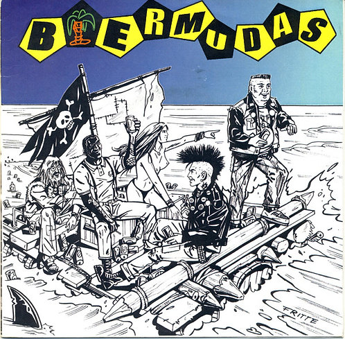"""BIERMUDAS - Biermudas EP 7"""" (Yellow)"""