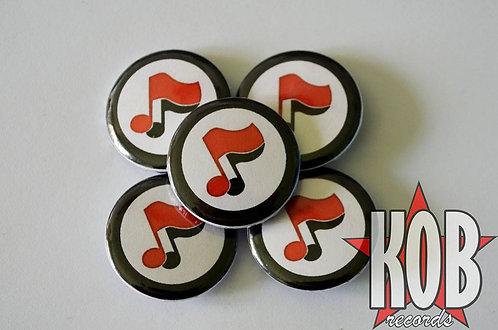 ANTIFA MUSIC Button