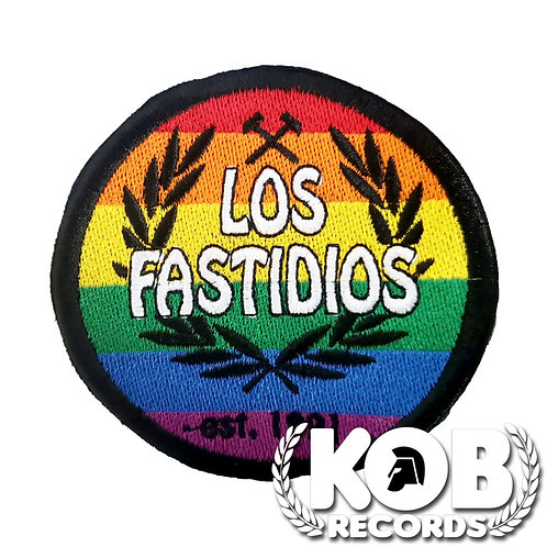 LOS FASTIDIOS Patch / Toppa