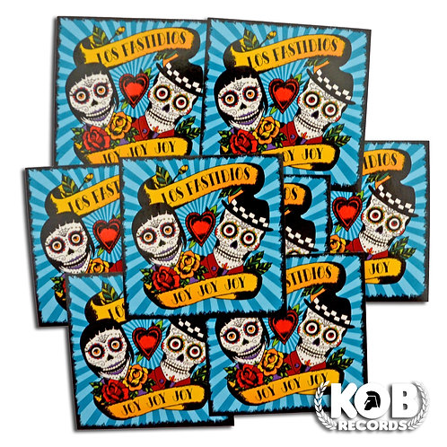 LOS FASTIDIOS Joy Joy Joy (30 Stickers)