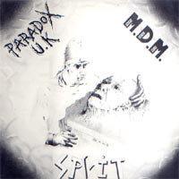 PARADOX U.K. / M.D.M. - Split LP