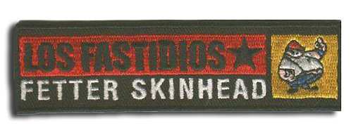 LOS FASTIDIOS FETTER SKINHEAD Patch/Toppa
