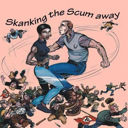 V/A SKANKIN THE SCUM AWAY CD
