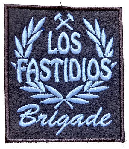 LOS FASTIDIOS BRIGADE Brown/White - Patch / Toppa