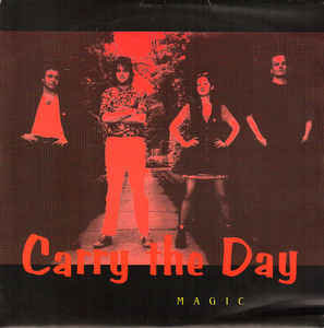 """CARRY THE DAY - Magic EP 7"""" (Red)"""
