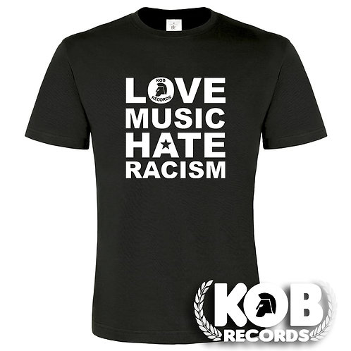 LOVE MUSIC, HATE RACISM T-Shirt